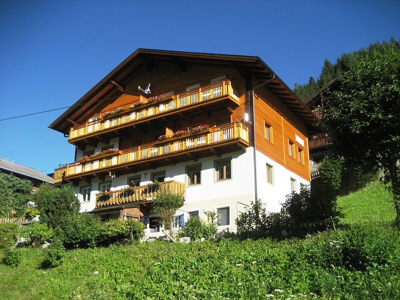 Main house in summer