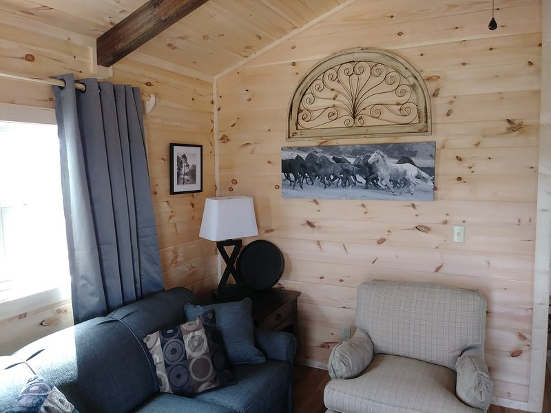 Moore Rd. Cabin # 2,  approx. 1 mile from Tryon International Equestrian Center, vacation rental in Tryon