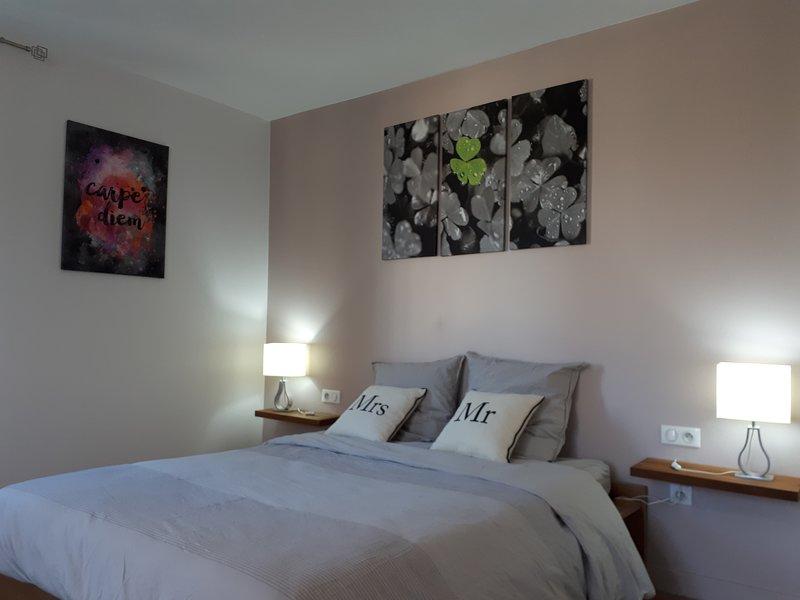 Chambre Familiale TREFLE **** - Chambres d'hôtes CARPE DIEM - Sélestat, holiday rental in Chatenois