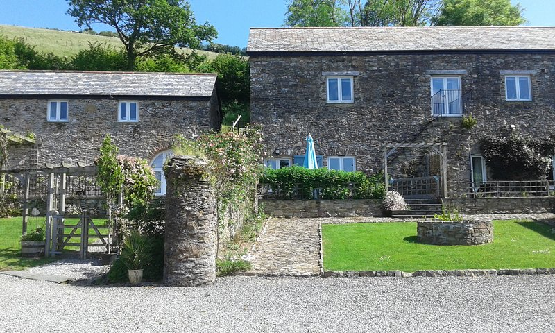 Rear view of Cider House facing the view