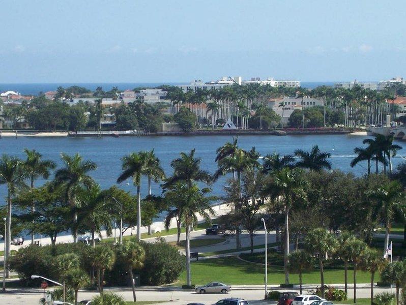 Intracoastal View from the Condo Balcony