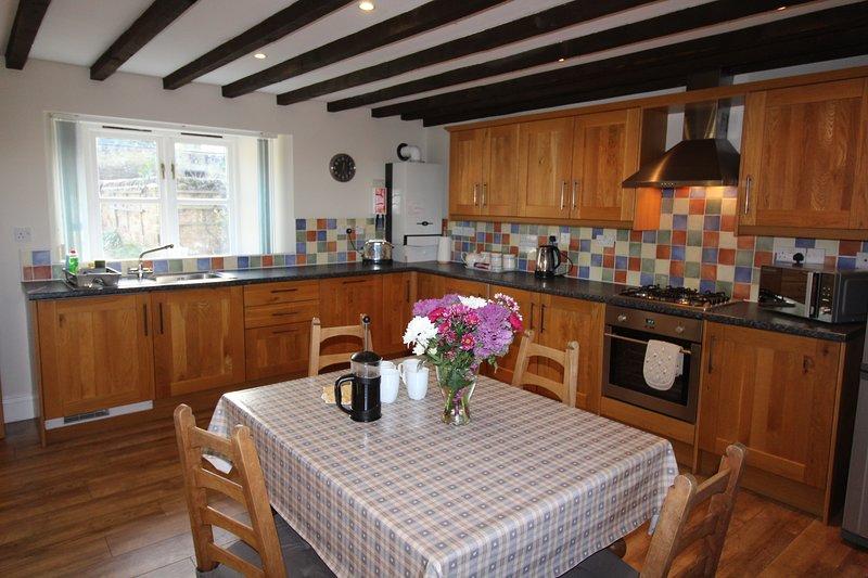 Chaff House kitchen