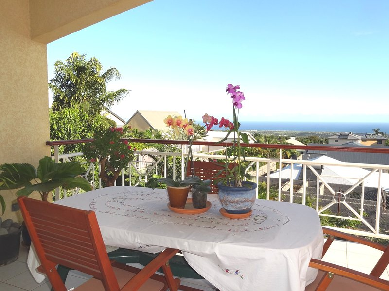 spacious terrace with magnificent sea views. Very quiet.