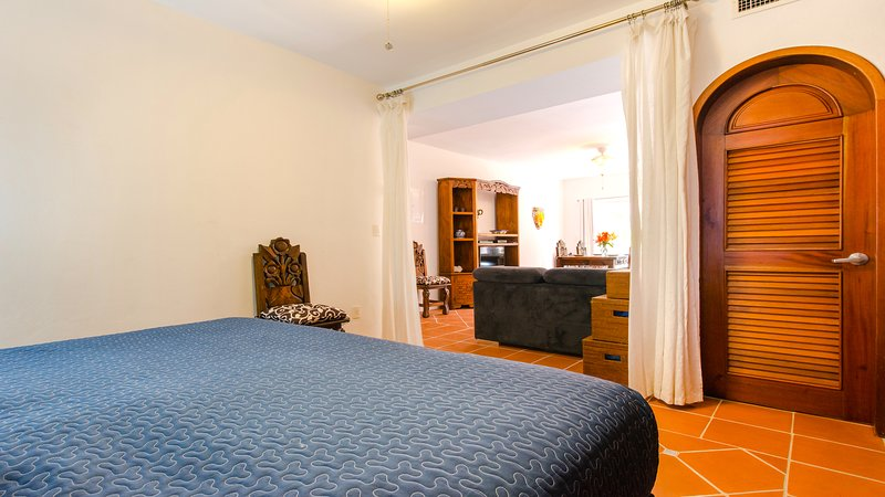 Riviera Maya Haciendas, Quinta Maya  - Your Bedroom with King Size, Large Dressing, A/C, Fan, Safe