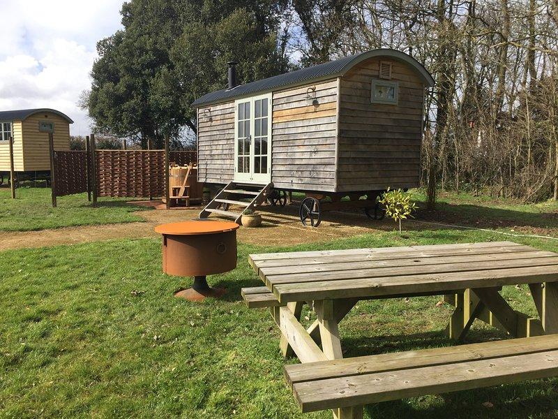Stanley Hut - Jordans Estate Glamping, location de vacances à Hatch Beauchamp