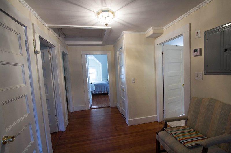 La entrada al apartamento