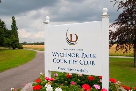 Wychnor Park Country Club Entrada de la