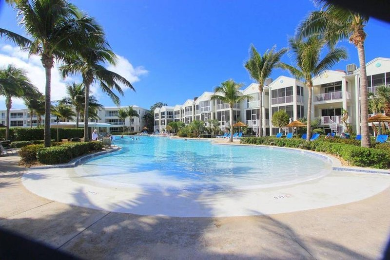 Our Stunning Oasis Pool - Largest in All of the Keys!