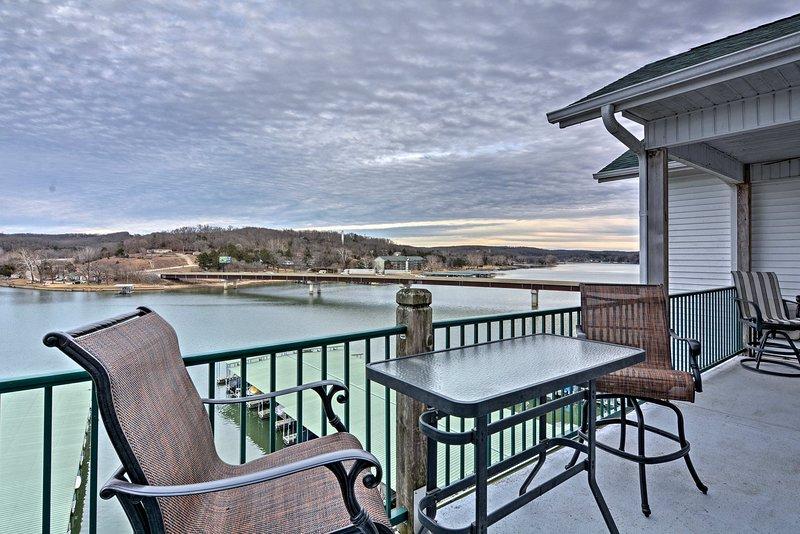 The ultimate lake retreat awaits at this vacation rental condo in Camdenton.
