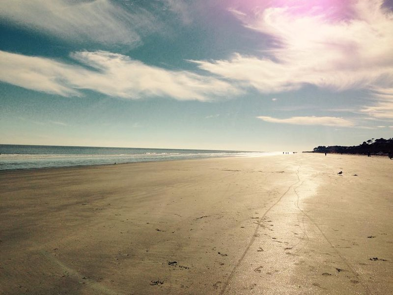 Hilton Head Resort's private beach