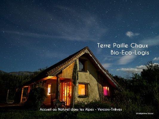 Terre Paille Chaux, Bio-Eco-Logis en Trièves, holiday rental in Les Cotes-de-Corps