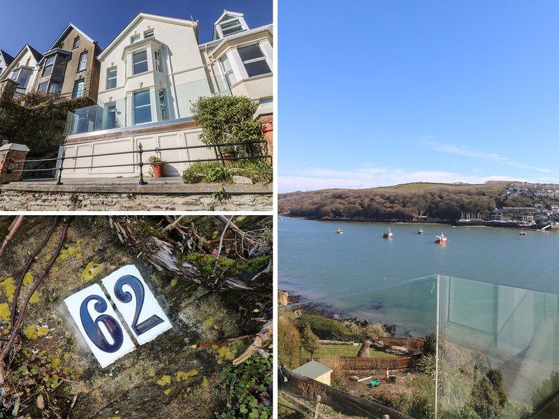 62 ESPLANADE, open-plan, views of the river, beach 10 mins walk. Ref: 974191, holiday rental in Fowey