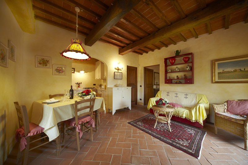 Il Pollaio, one bedroom apartment walking distance Tavarnelle Val di Pesa!, holiday rental in Sambuca