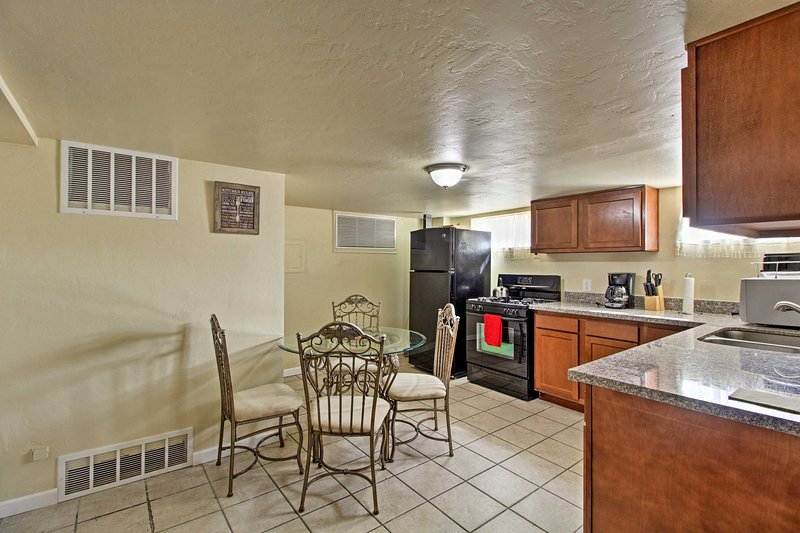 You'll have plenty of space to relax inside 1,100 square feet of living space.