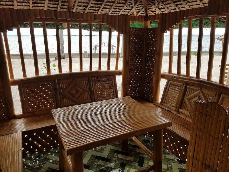 Cabana dinning area