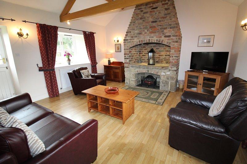 Forge Cottage - Living Room