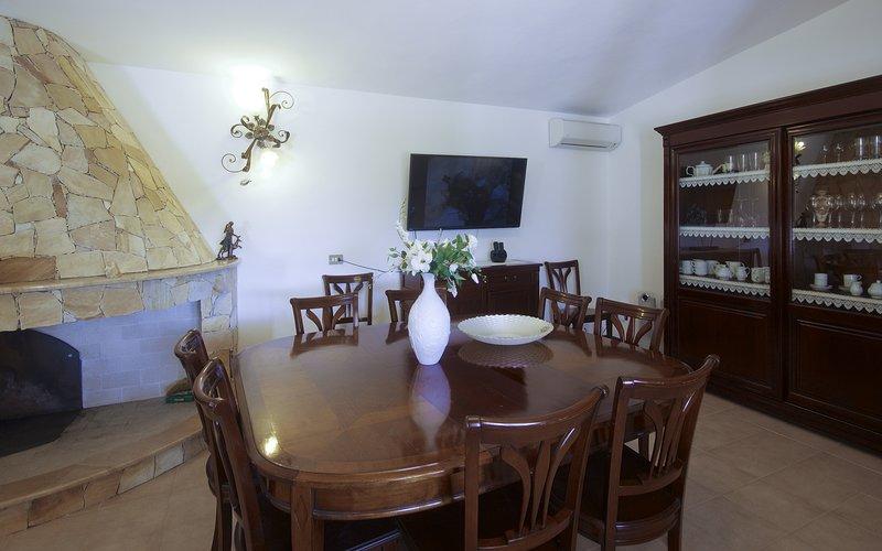 sala de jantar Interior