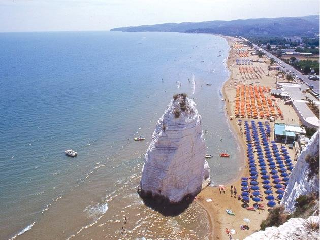 Beach promenade Enrico Mattei