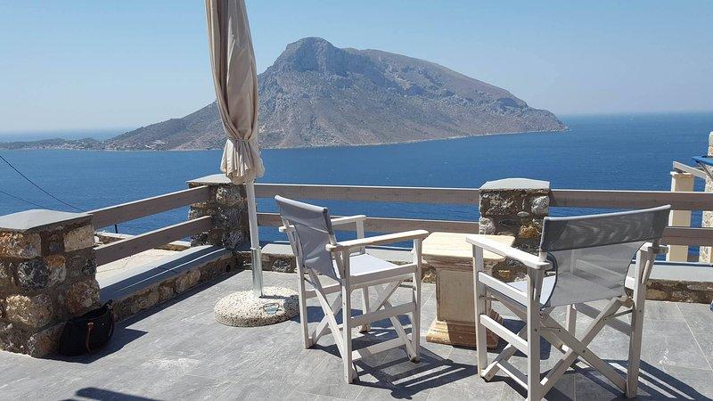HESTIA House- Kalymnos Aegean Sea View, vacation rental in Vathis