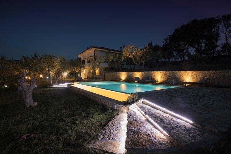 Bon Repos, villa Salondra, casa vacanza a Villanova Monteleone