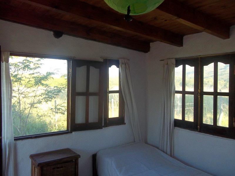 Cabañas El Despertar Ongamira (Ángel), location de vacances à Ongamira