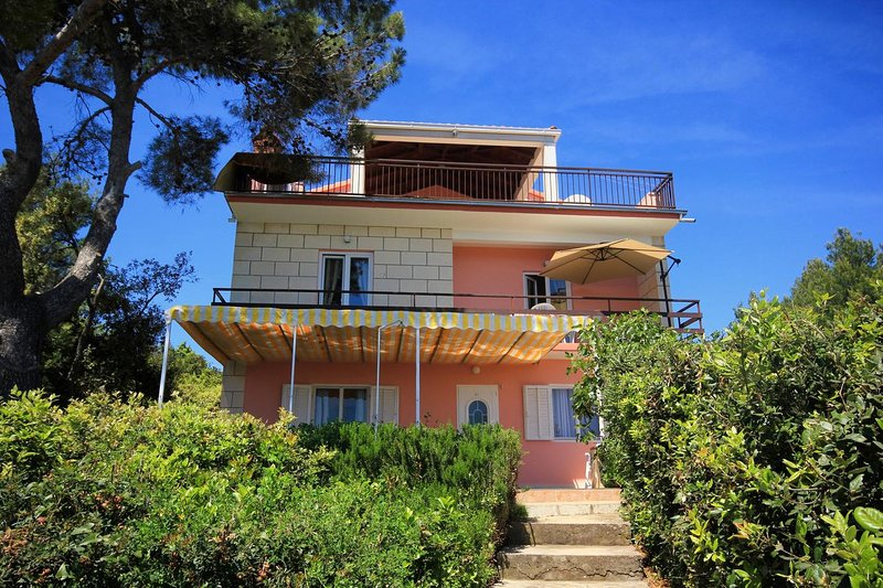 Two bedroom apartment Prižba, Korčula (A-10061-a), vacation rental in Blato