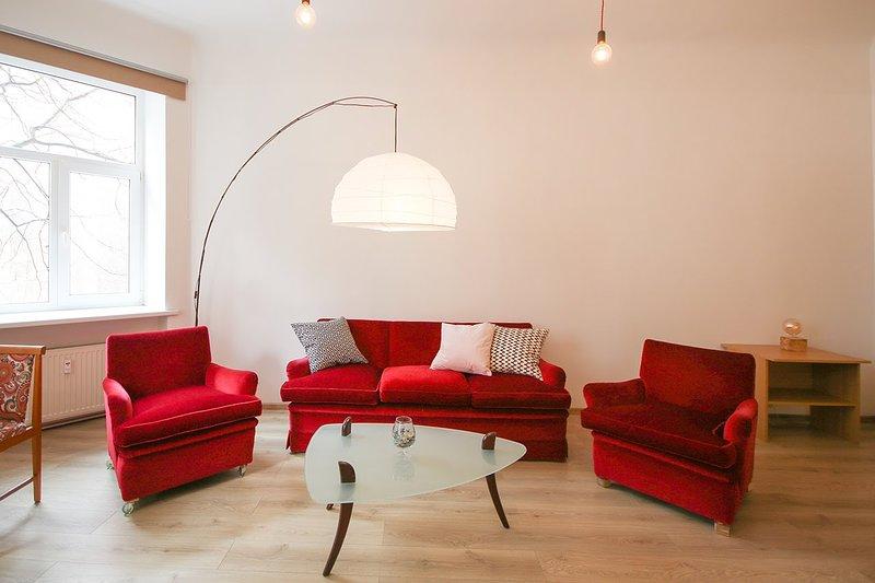 Charming 2 br apartment in Riga Center, location de vacances à Riga