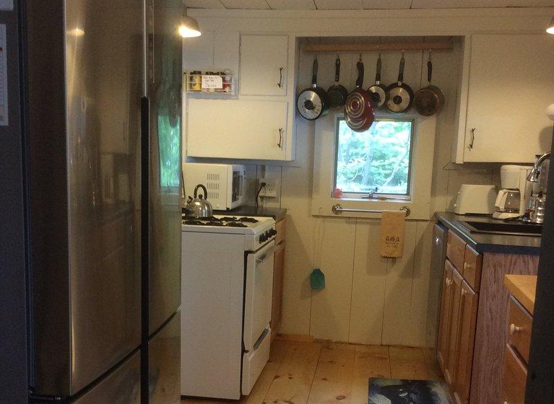 Nieuwe dubbele deur koelkast / vriezer.
