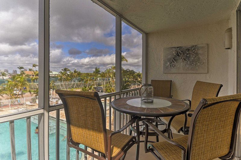You'll have access to community amenities and  be steps from the beach!