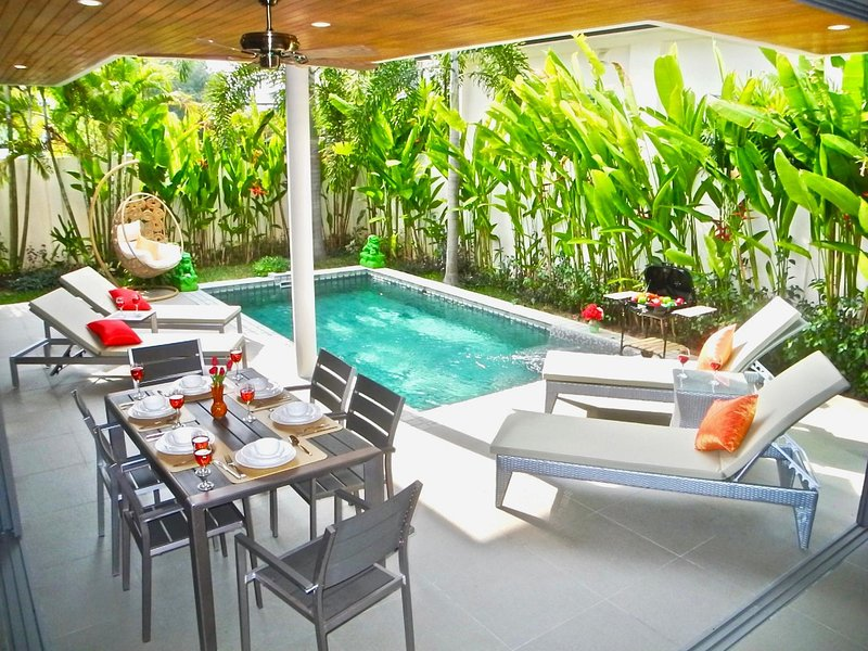 Ka Villa Rawai: Amazing 3 bedrooms property, casa vacanza a Ko He