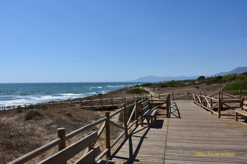 The Artola Dunes run from Puerto Cabopino towards Marbella and are a Protected Nature Reserve