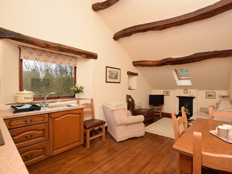 Open space soggiorno con cucina, sala da pranzo e salotto tutto in uno