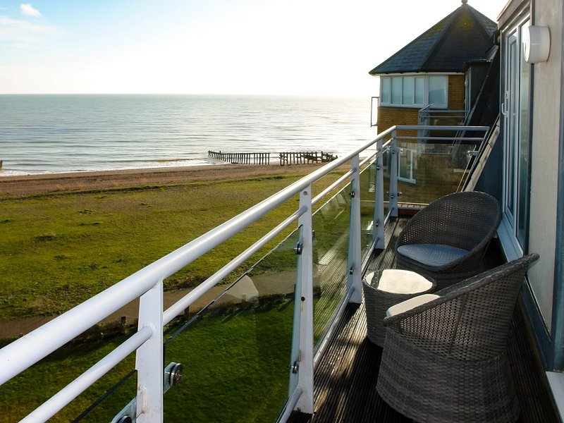 Enjoy uninterrupted views from the balcony
