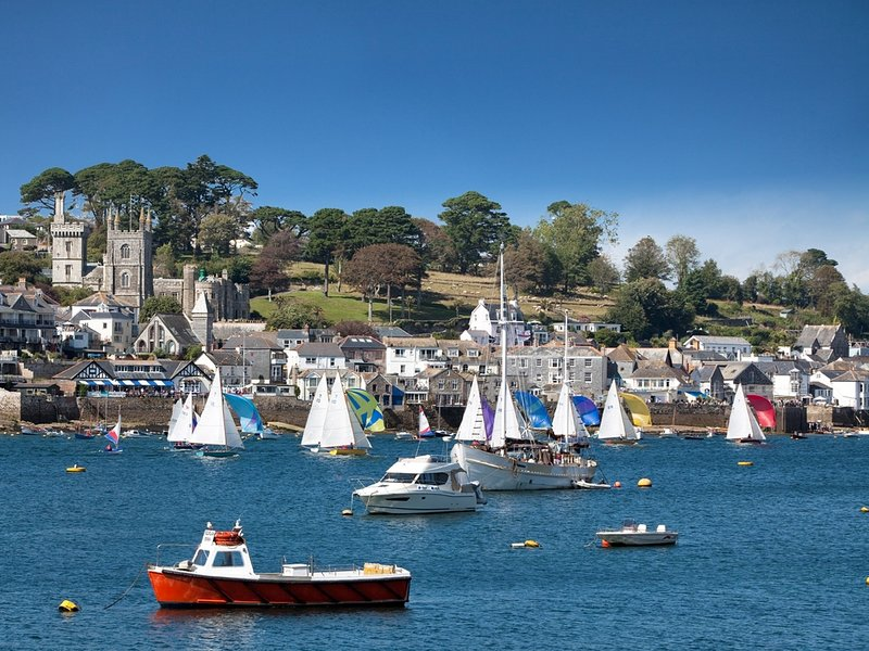 Enjoy a boat trip along the river Fowey
