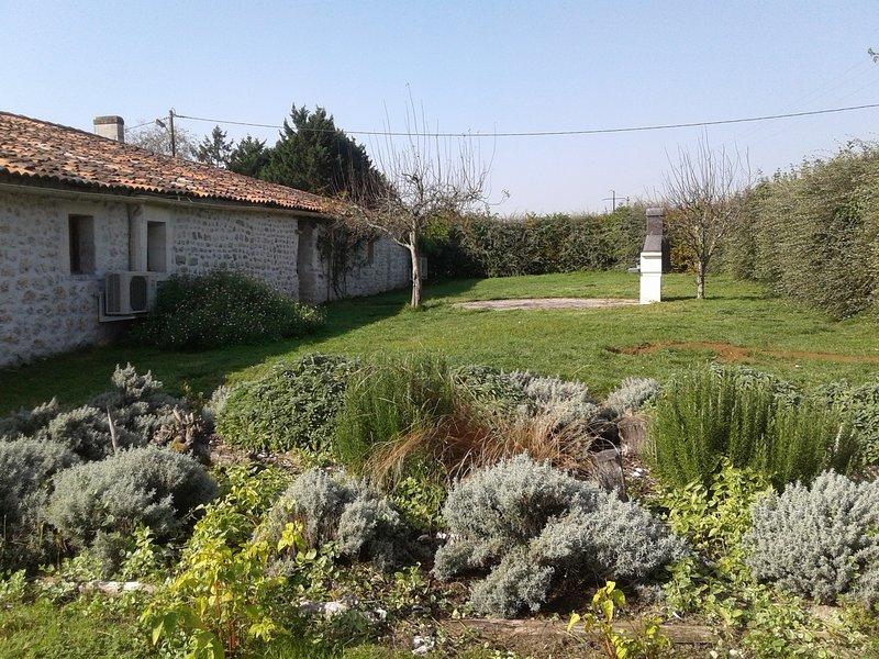 Chante le vent, holiday rental in Montpellier de Medillan