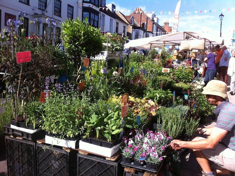 Sábado mercado de Lymington