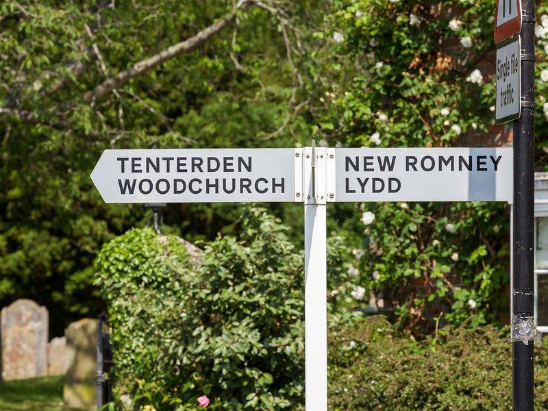 encantador pueblo de Kent
