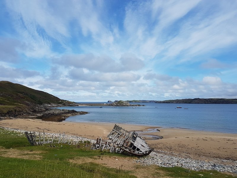 Talmine beach within walking distance