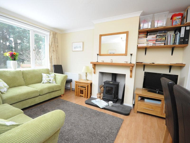 Relax and read a book or watch TV in the comfy Lounge
