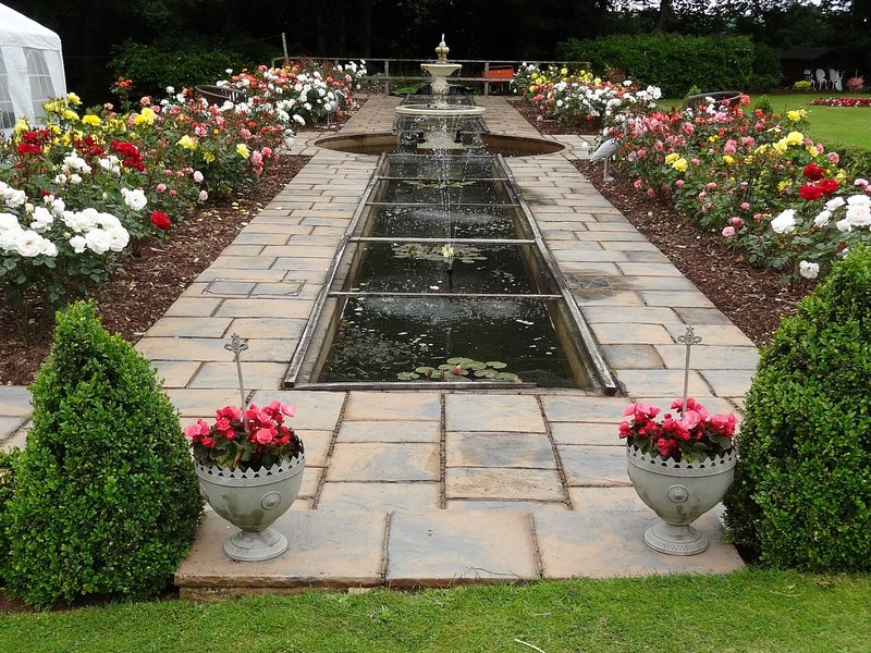 Stunning gardens to explore with water features
