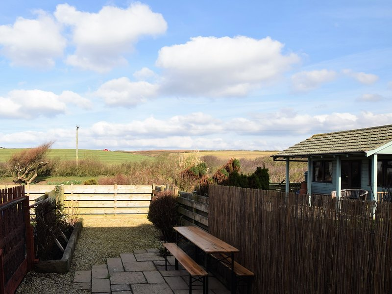 Enclosed garden with stunning views