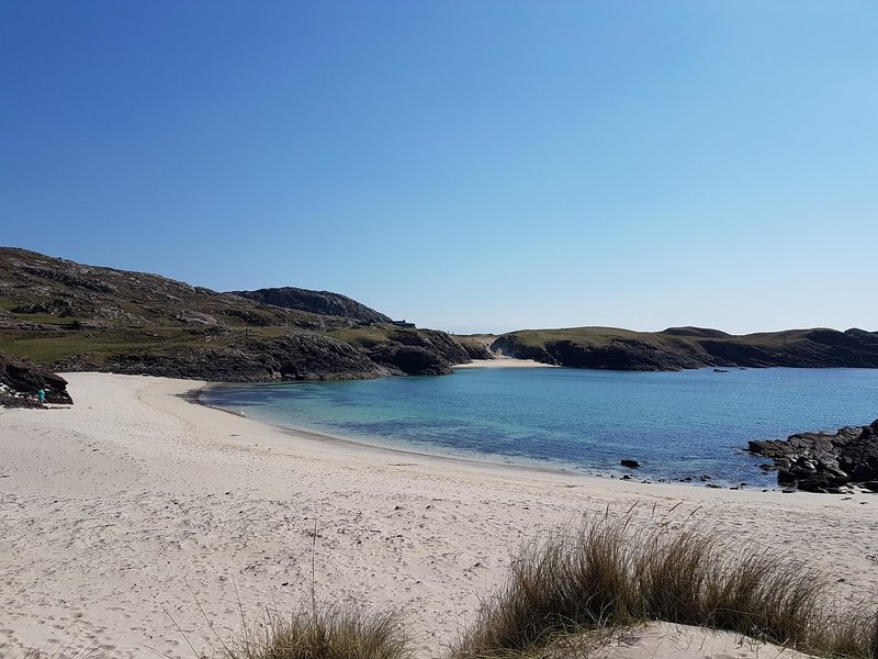 Clachtoll beach within driving distance