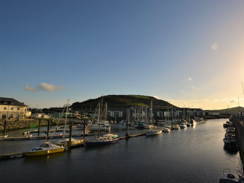 Visit the coastal town of Aberystwyth during your stay
