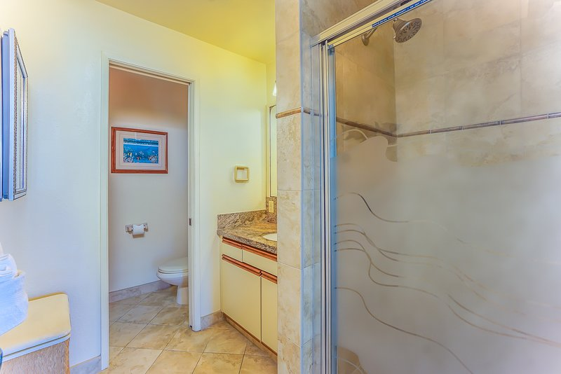 Sea Village #4114 - Guest Bathroom with Standalone Shower