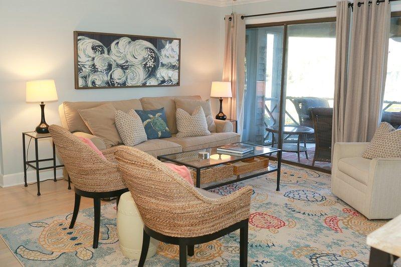 sofá cama confortable y Smart TV!