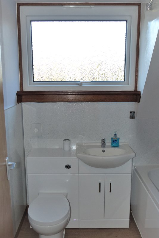 Vanity unit and WC