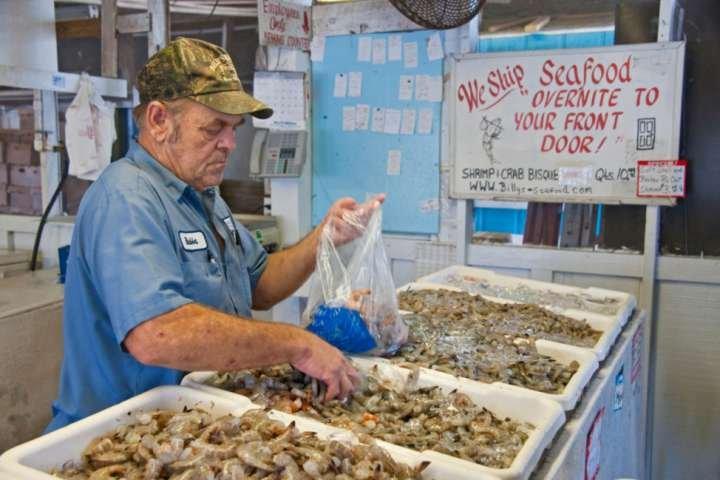 Verse vis markt