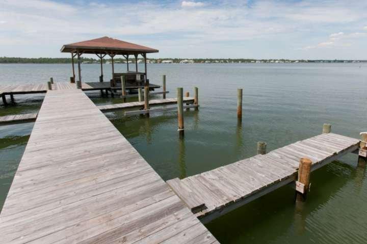 Little Lagoon dock