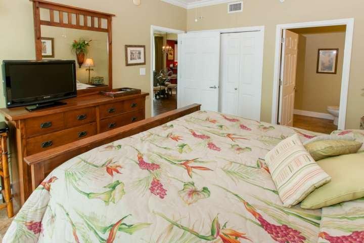 Master bedroom looking towards great room