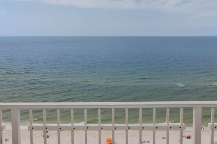 Beautiful views of the beach and the Gulf
